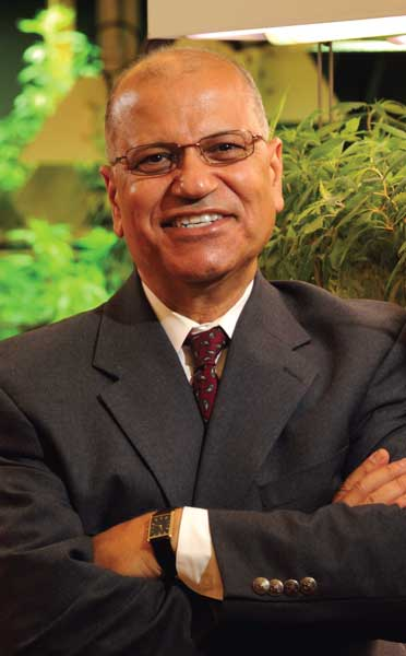 Dr. Mahmoud ElSohly, director of the university's Marijuana Project