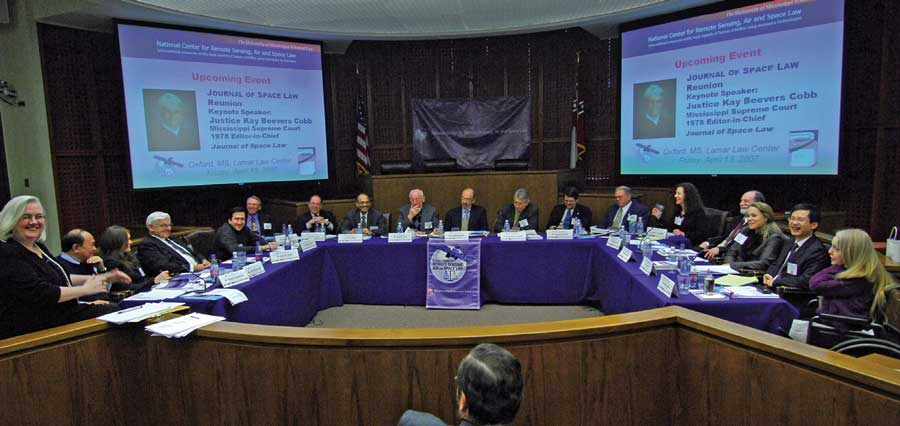 "A round-table forum on ""Space Law in the Era of Globalization"""