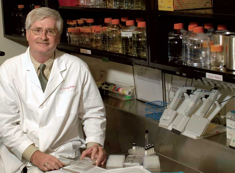 Dr. Larry Walker, director of the National Center for Natural Products Research