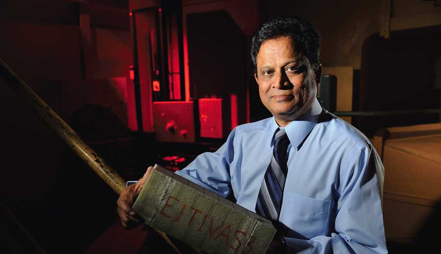 Dr. P.R. Mantena, professor of mechanical engineering