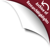 Back to ResearchHighlights Issue Listing